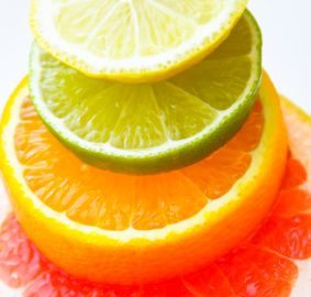 Top note essential oils are commonly citrus essential oils, Vladyslav Starozhylov, istockphoto, with permission