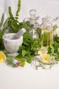 You will need several basic ingredients to get started in aromatherapy cosmetic making! istockphoto, used with permission