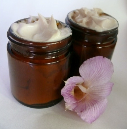 Aromatherapy foot cream, copyright Sharon Falsetto, all rights reserved