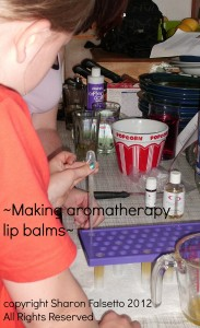 Making Aromatherapy Lipbalms