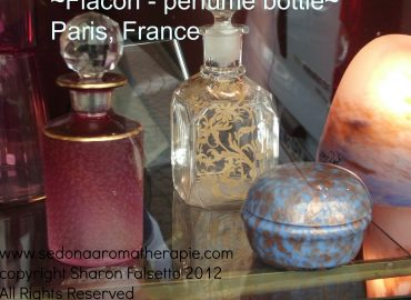 French perfume bottles, copyright Sharon Falsetto, All Rights Reserved