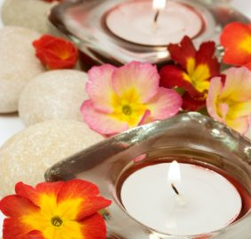 Aromatherapy candles made with soy, istockphoto, used withb permission