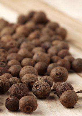Allspice Essential Oil (Pimento Berry): Photo Credit, Fotolia