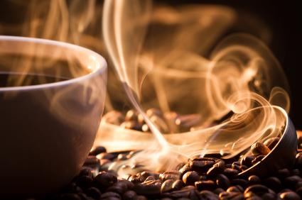 Coffee essential oil: Photo Credit, ISP