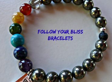 Follow Your Bliss Bracelets by Cherly Murphy: Photo Copyright Sharon Falsetto