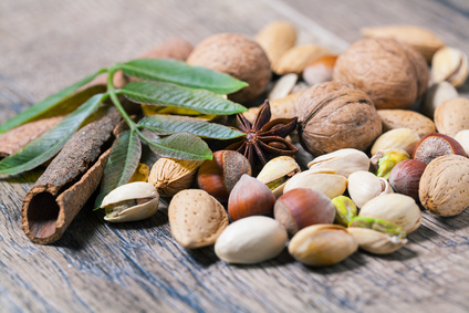 Nuts and Seeds for Aromatherapy Oils: Photo Credit, Fotolia