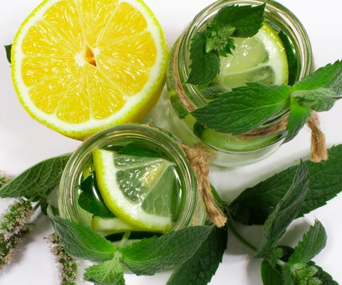 Cooling Mint, Cucumber, and Lemon-Like Aromas for Summer: Photo Credit: Dreamstime