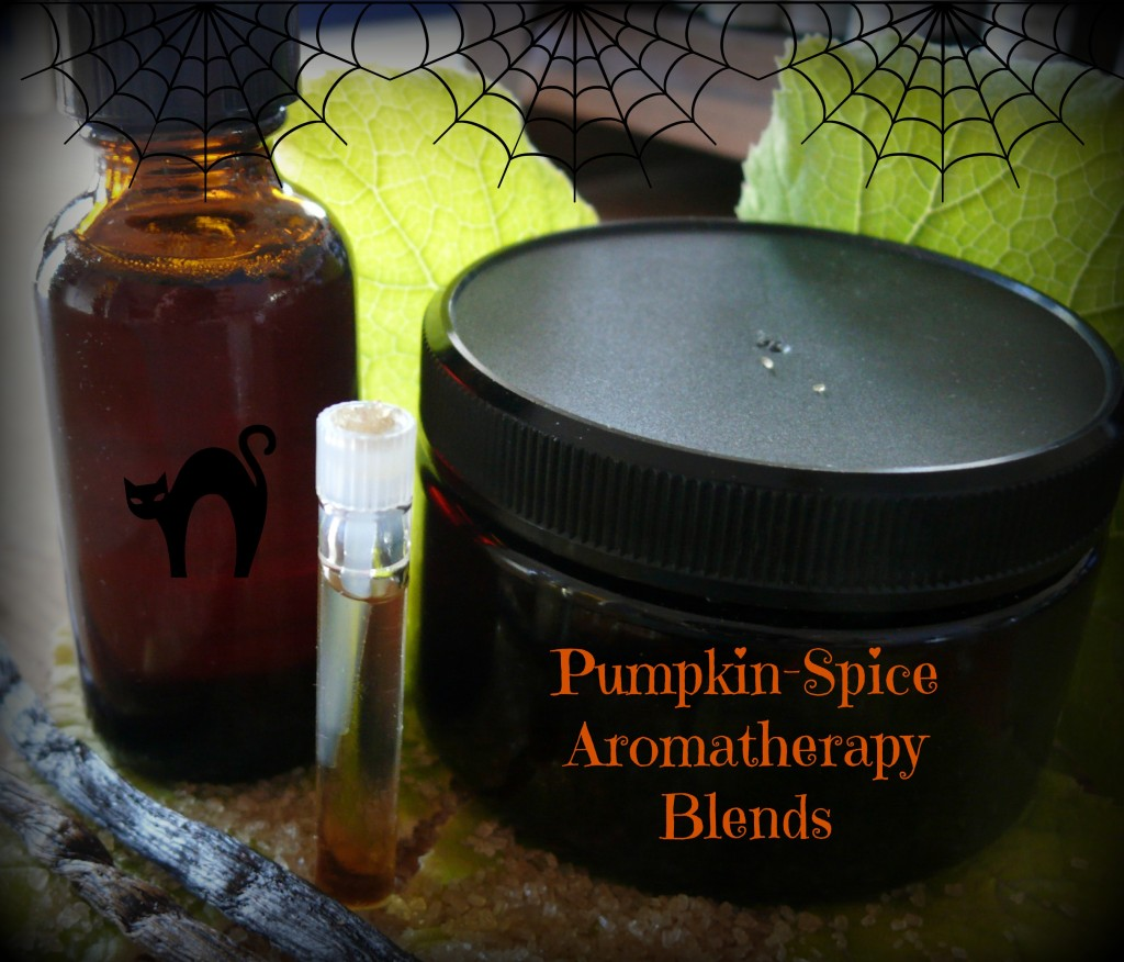 Pumpkin-spice Aromatherapy Blends: Photo Credit Sharon Falsetto All Rights Reserved