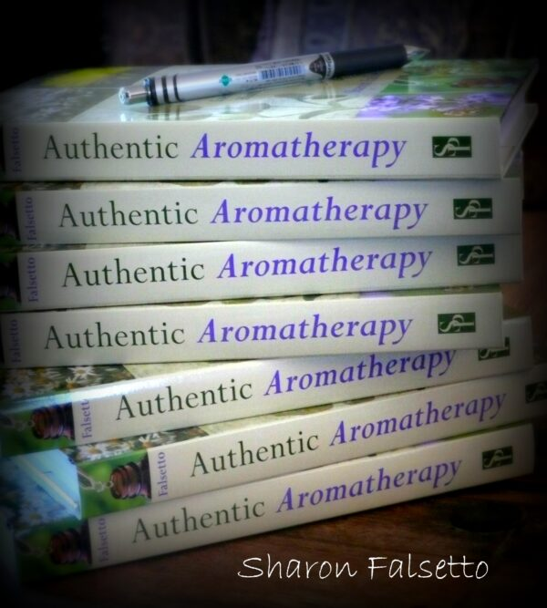 authentic aromatherapy book by Sharon Falsetto
