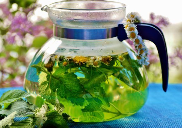 Aromatic Teas from the Garden Workshop